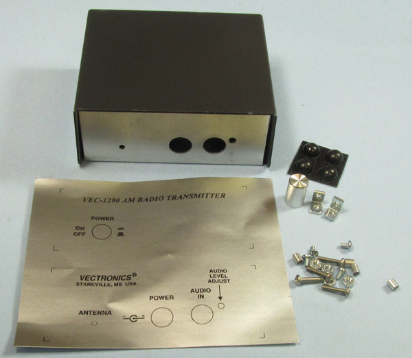 VEC-1290KC, KIT CASE, AM RADIO TRANSMITTER