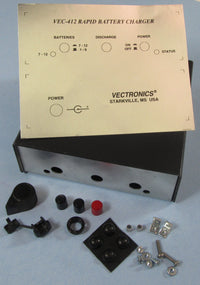 VEC-412KC, KIT CASE, NICAD BATTERY CHARGER