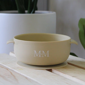 MM Suction Bowl: ALMOND