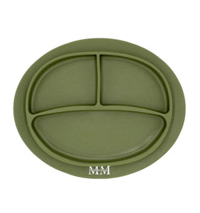 MM Divided Plate: OLIVE