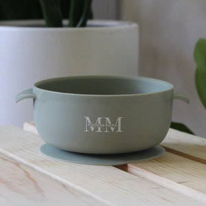 MM Suction Bowl: SLATE