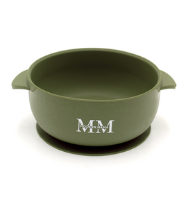MM Suction Bowl: OLIVE