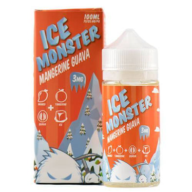 Jam Monster eJuice - Mangerine Guava Ice