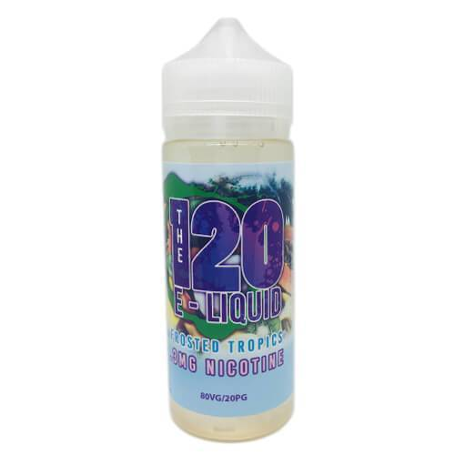 The 120 eLiquid - Frosted Tropics