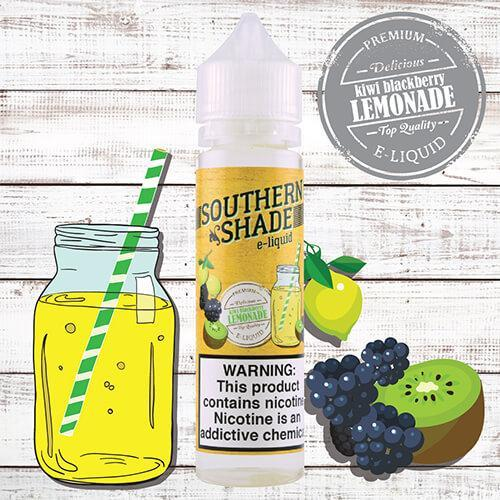 Southern Shade eJuice - Kiwi Blackberry Lemonade