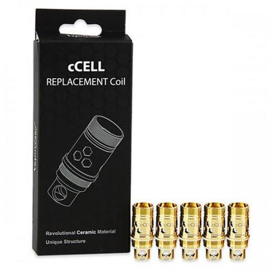 Vaporesso Ceramic cCell SS 316L Coil 0.6ohm (5 Pack)