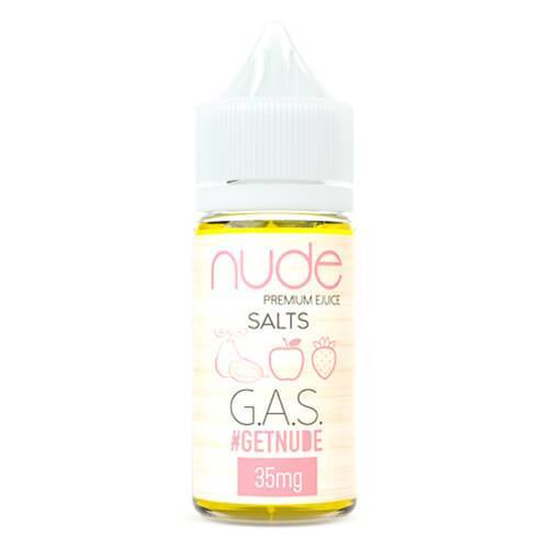 Nude Salts eJuice - GAS Salt