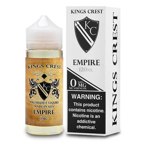 Kings Crest Premium E-Liquid - Empire