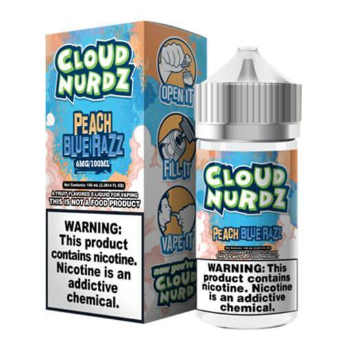 Cloud Nurdz eJuice - Peach Blue Razz