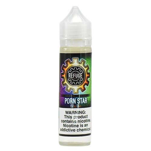 The Refuge Handcrafted E-Liquid - Porn Star