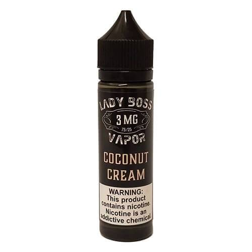 Lady Boss Vapor - Coconut Cream