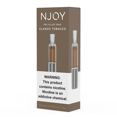 Njoy Pre-Filled Tank - Classic Tobacco