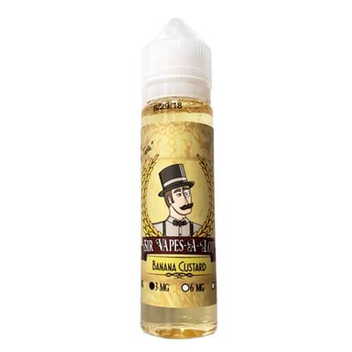 Sir Vapes-A-Lot eLiquid - Banana Custard