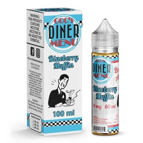 Breakfast All Day eJuice - Blueberry Muffin