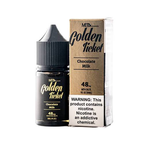 MET4 eJuice SALTS - Golden Ticket
