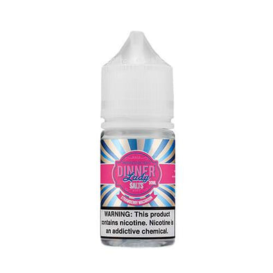 Dinner Lady Premium E-Liquids SALT - Strawberry Macaroon