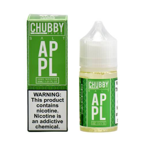 Chubby Bubble Vapes Salts - Apple Salt