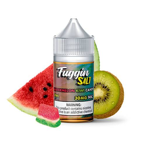 Fuggin eLiquids SALTS - Watermelon Kiwi Candy