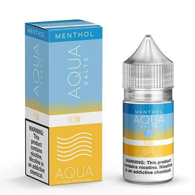 Aqua Menthol eJuice SALTS - Flow