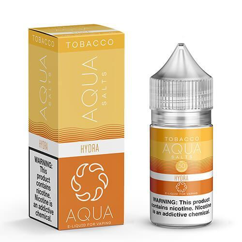 Aqua Tobacco eJuice SALTS - Hydra