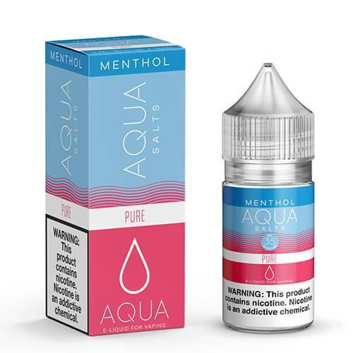 Aqua Menthol eJuice SALTS - Pure