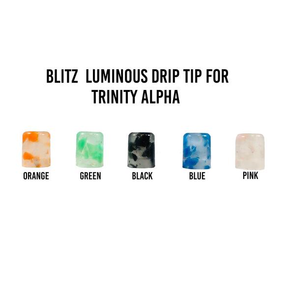 Blitz Luminous Trinity Alpha Drip Tip - Juice Man