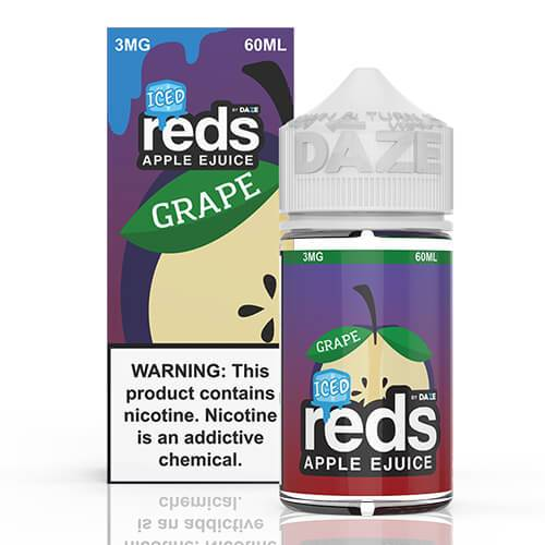 Reds Apple EJuice - Reds Grape Iced