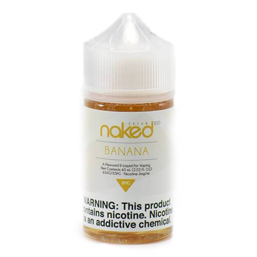 Naked 100 Cream E Liquid By Schwartz - Banana
