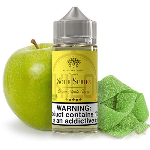 Kilo eLiquids Sour Series - Green Apple Sours