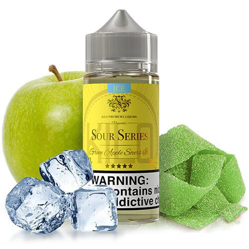 Kilo eLiquids Sour Series ICE - Green Apple Sours Ice
