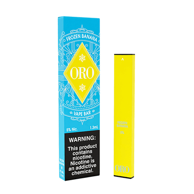 Oro - Disposable Vape Device - Frozen Banana