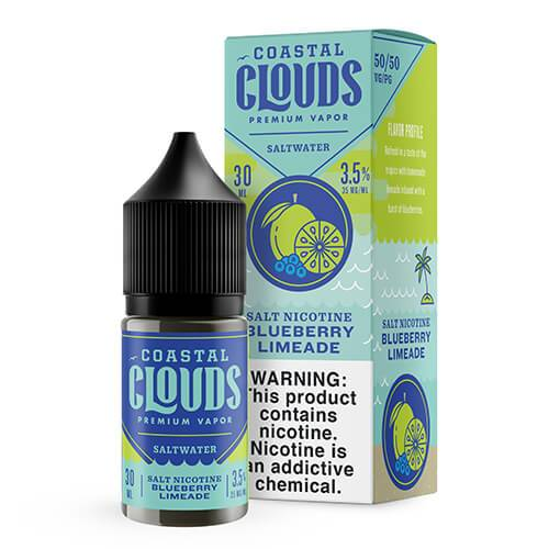 Coastal Clouds eJuice - Blueberry Limeade SALT