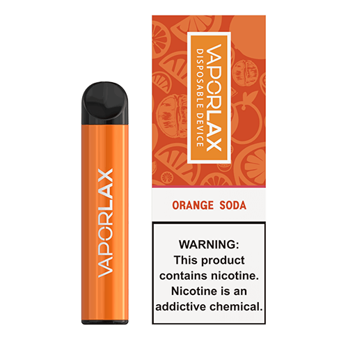 VaporLAX - Disposable Vape Device - Orange Soda