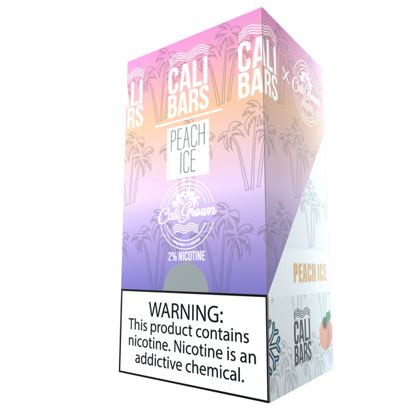 Cali Bars x Cali Grown Disposable (5%) - Box of 10