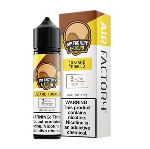 Air Factory Eliquid - Custard Tobacco