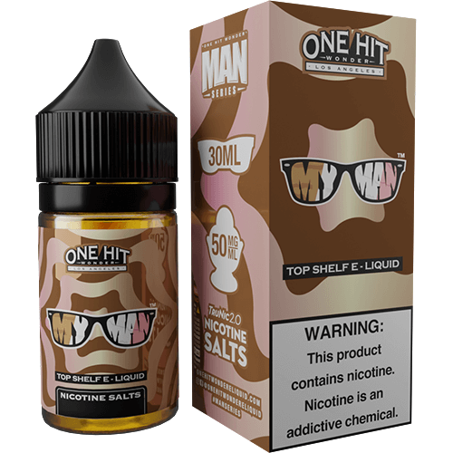 One Hit Wonder eLiquid SALT - My Man
