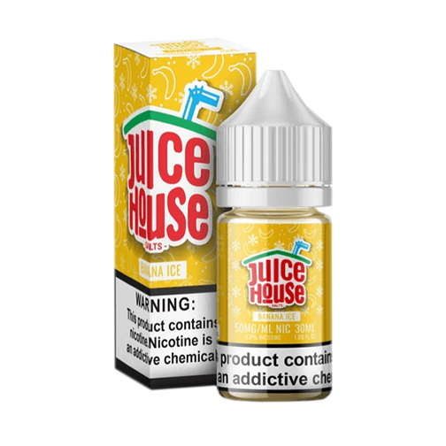 Juice House eLiquid SALT - Banana Ice
