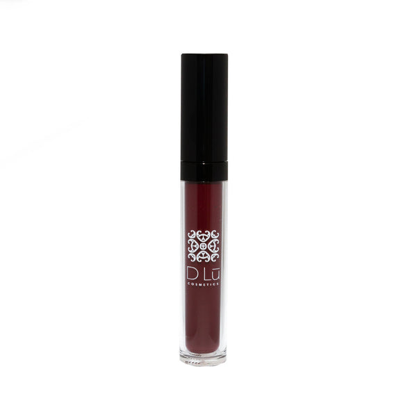 DLu Royale Liquid Matte Lipstick - Black Cherry