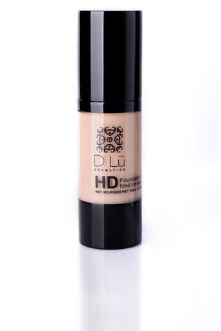 DLu Premier HD Liquid Foundation Medium Light Porcelain