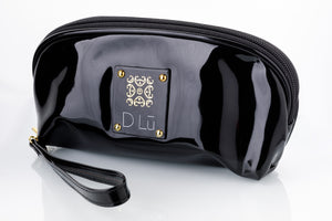 DLu Accessory Bag - Label with Gold Beads