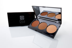 DLu Premier 3 Well Contour / Highlight Powder Pallet - Dusk