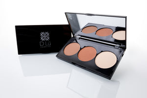 DLu Premier 3 well Contour / Highlight Powder Pallet - Fair