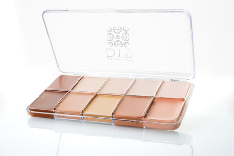 DLu Premier HD Creme Foundation Mixed Palette