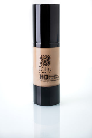 DLu Premier HD Liquid Foundation Light Ivory