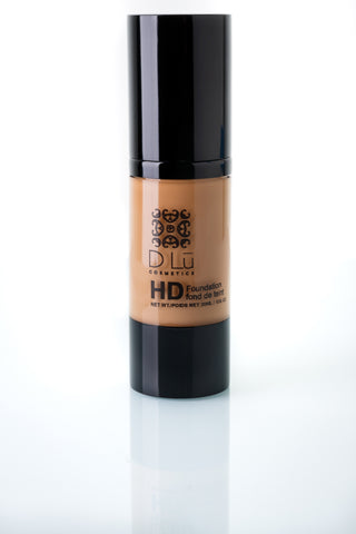 DLu Premier HD Liquid Foundation Medium Porcelain