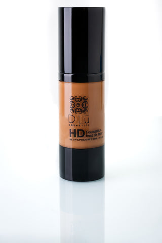 DLu Premier HD Liquid Foundation Medium Tan