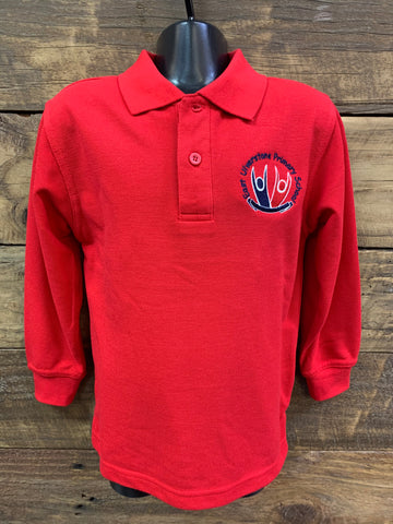 East Ulverstone Primary POLO...Long Sleeve