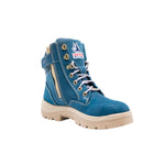 512761-Steel Blue LADIES Southern Cross Zip sided