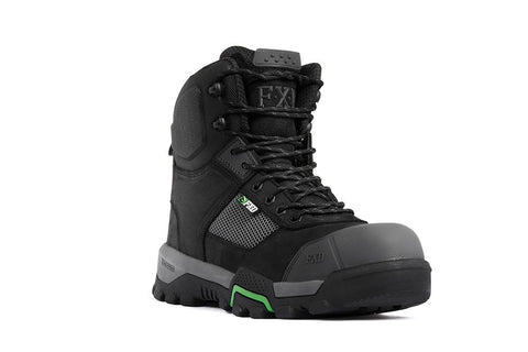 FXD WB-1 Safety Work Boot-BLACK