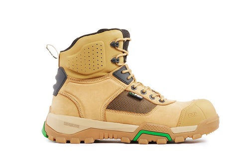FXD WB-1 Work Safety Boot-WHEAT
